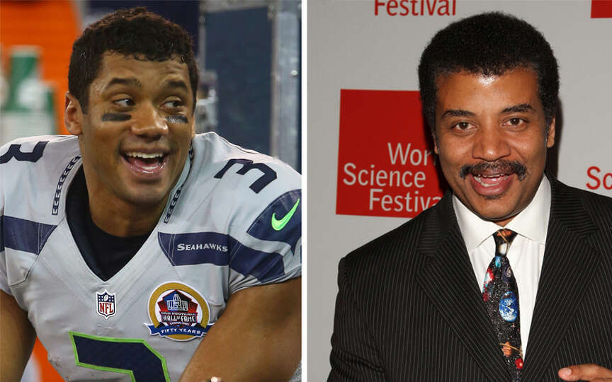 Image result for neil degrasse tyson russell wilson