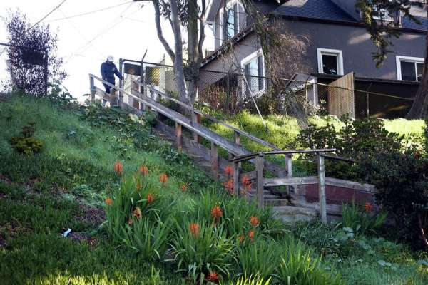 Dilapidated stairway in San Francisco's Excelsior to get ...