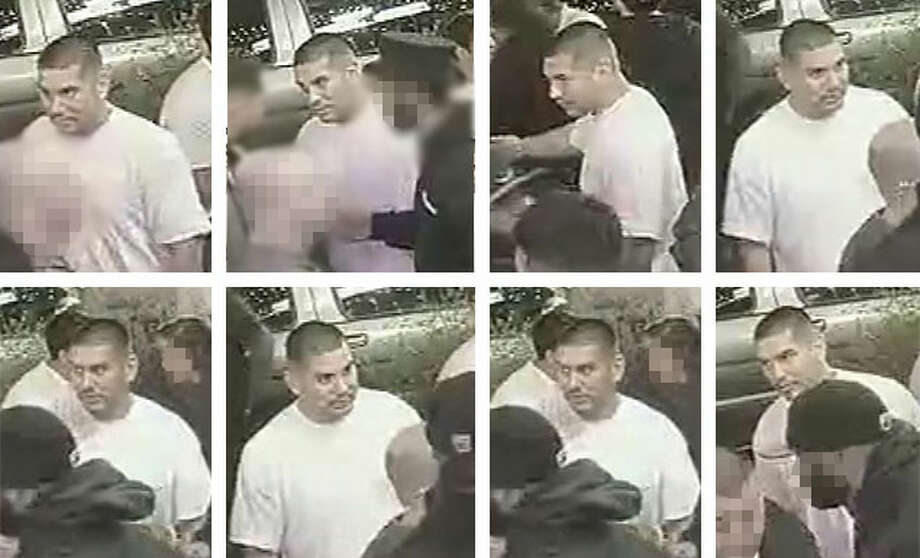The San Jose Police Department released these still photographs of a wanted suspect, which were taken from security footage just before a stabbing outside the Willow Den Bar. Photo: San Jose Police Department / /