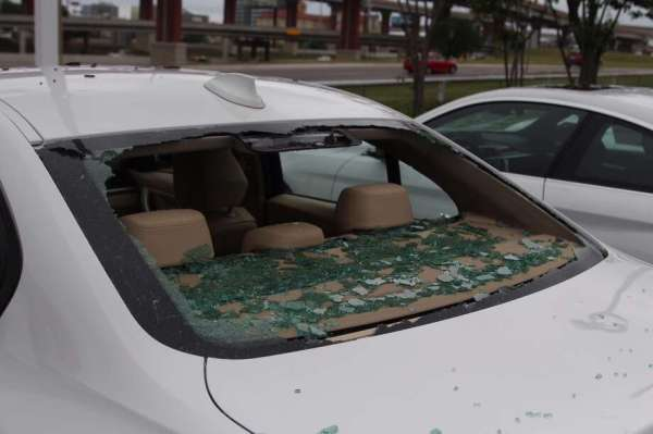 Hundreds of luxury cars damaged at BMW of San Antonio by ...