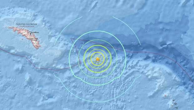 Samudra Atlantik Dilanda Gempa Dahsyat