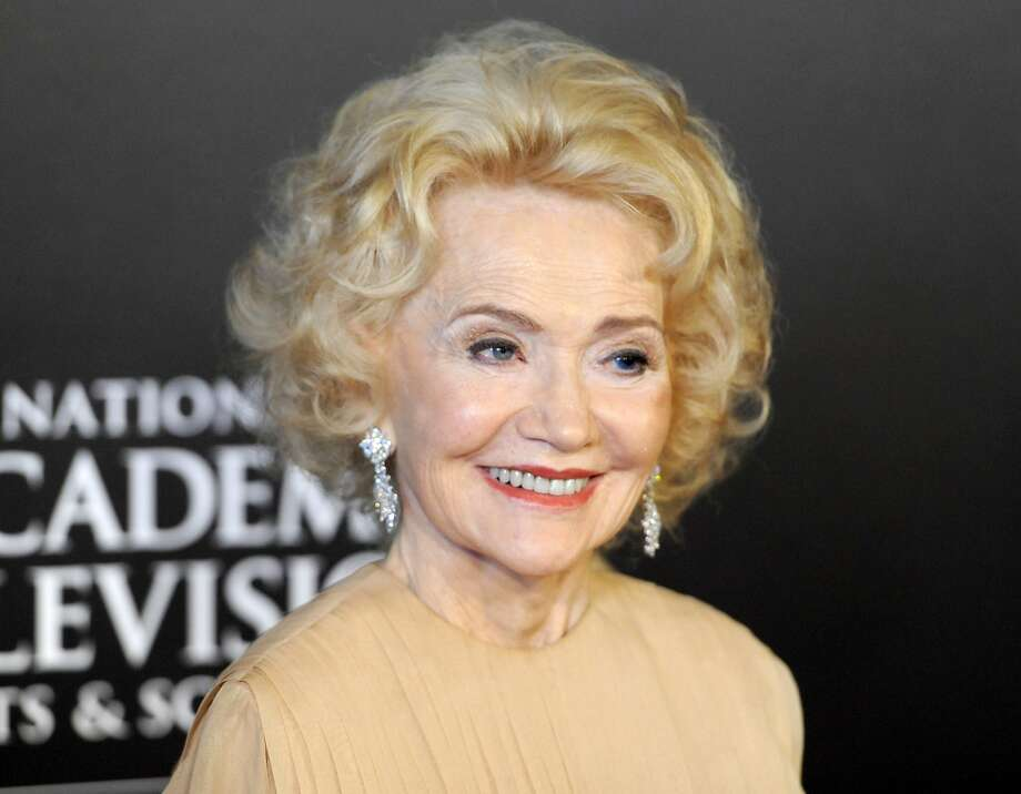 """Agnes Nixon arrives at the 2010 Daytime Emmy Awards in Las Vegas. Nixon created the popular soap operas """"One Life to Live"""" and """"All My Children."""" Photo: Chris Pizzello, Associated Press"""