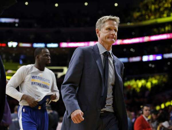 Steve Kerr vents about presidential election - SFGate