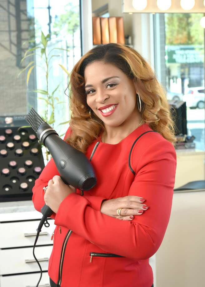 Houston woman Dr. Michalyn Demaris Porter has invented the Weave Dryer,  $49.99, for women who wear extensions and weaves. It's available at  weavedryer.com  Photo: Courtesy Photo