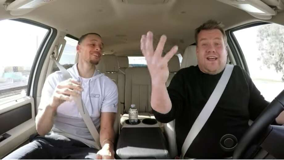 Image result for Steph Curry Does 'Carpool Karaoke' + Gets New Life Coach