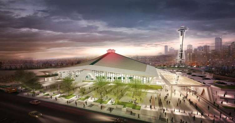 Image result for oak view group arena seattle