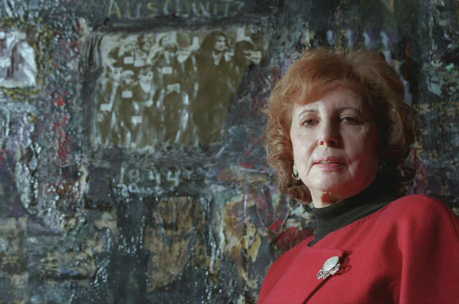 "houston artist and Holocaust survivor, Alice Cahana, is featured in Steven Spielberg's documentary, THE LAST DAYS.  photo shot 2/16/99 HOUCHRON CAPTION (02/18/1999): Alice Lok Cahana keeps memories of concentration camp horrors and small blessings alive in her paintings and in her testimony in the Oscar-nominated film ""The Last Days.'' Photo: Kevin Fujii / Houston Chronicle"