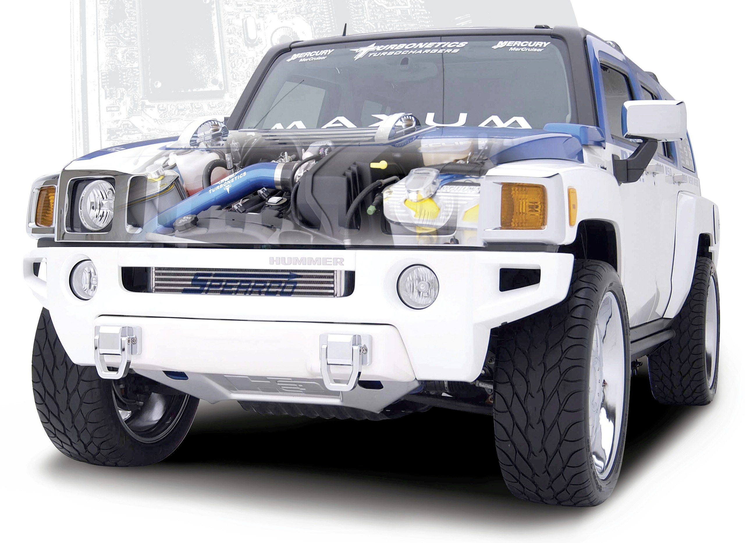 Turbonetics Hummer H3 Bolt Turbo System Released