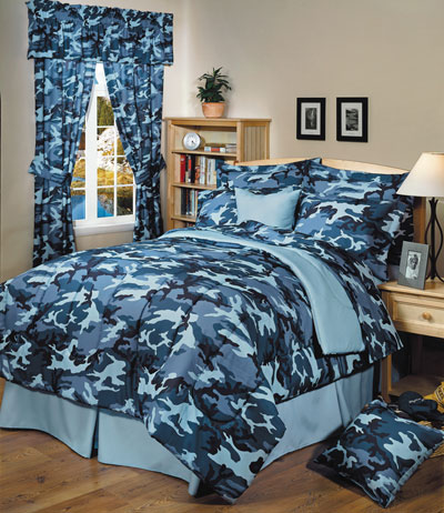 The Camo Shop Announces New Line Of Military Camo Bedding