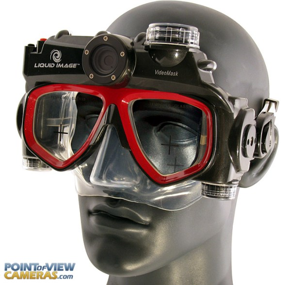 Liquid Image High Def Scuba Mask Video Cameras Available ...