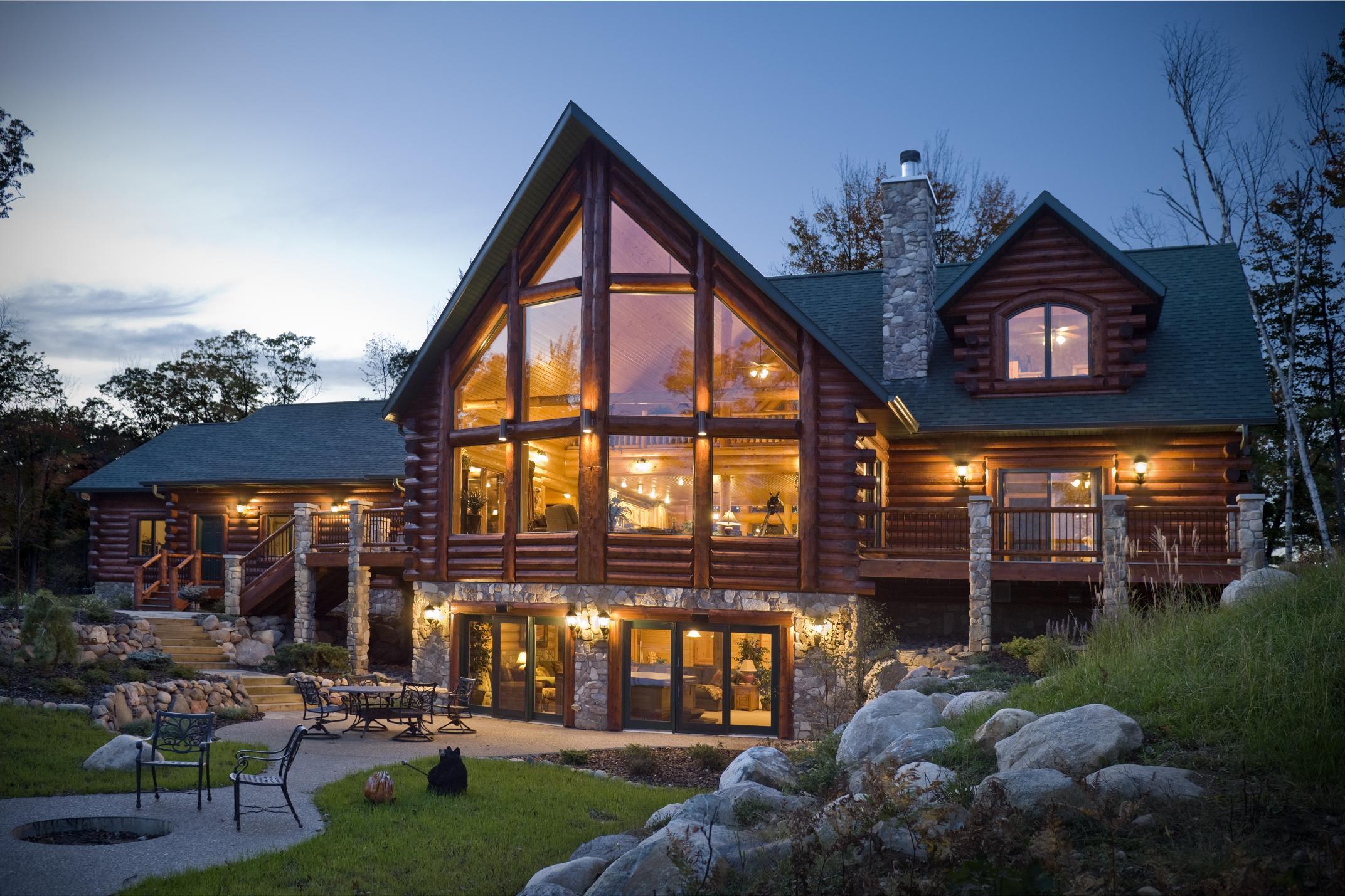 Sashco Log Home Products And Golden Eagle Log Homes Expand