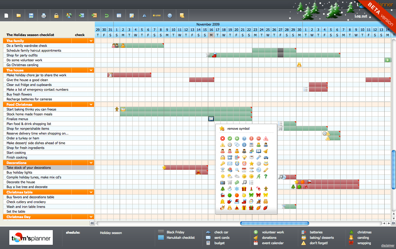 Tom S Planner Announces Free Holiday Planning Template