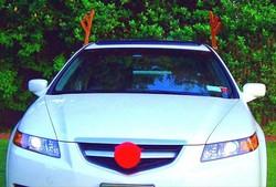 1 Christmas Car Decoration Set