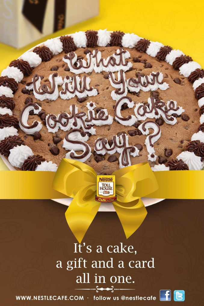The Object of My Confection: Nestle Toll House Cafe by
