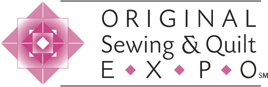 Original Sewing & Quilt Expo logo