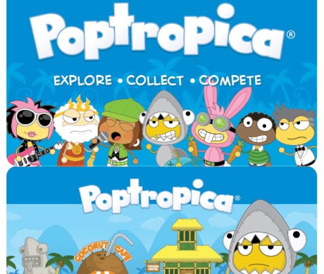 Poptropica Game Cards