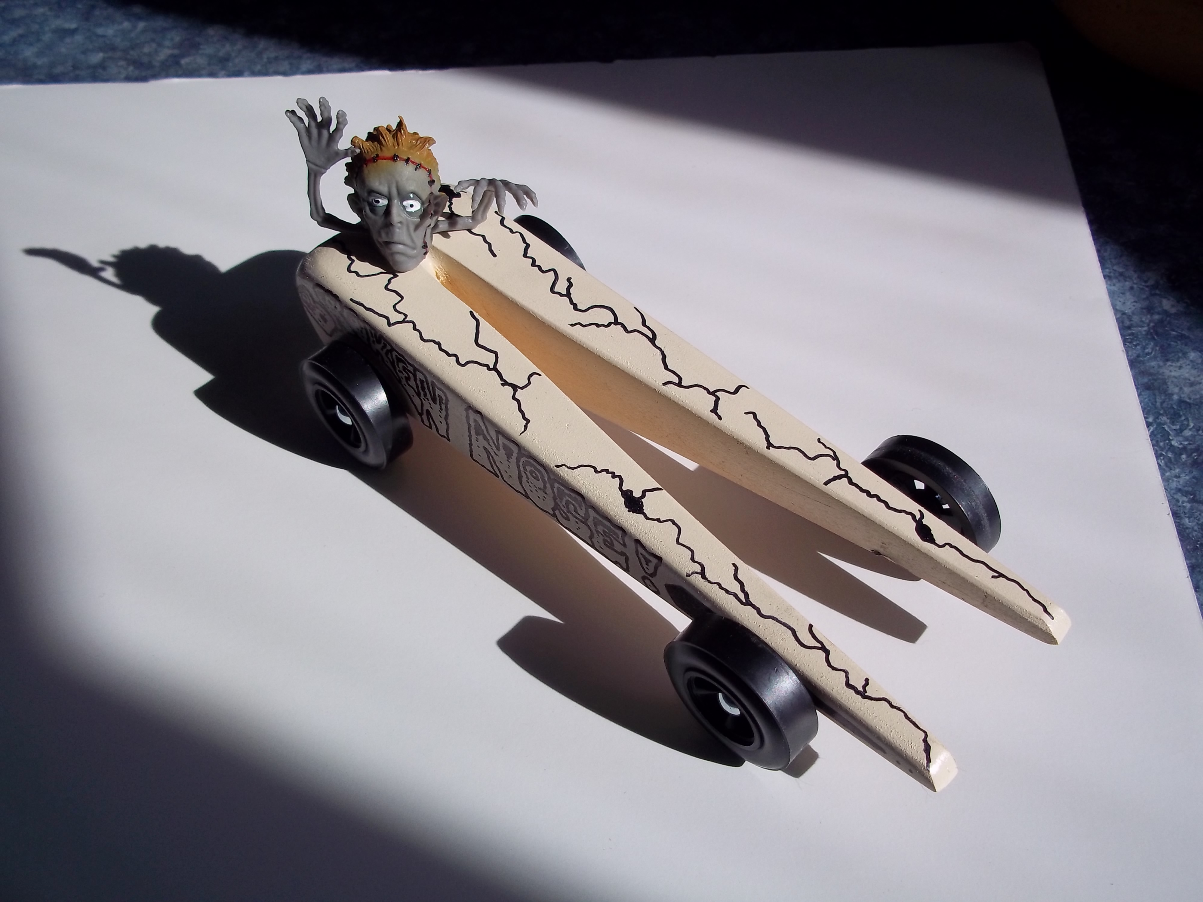 Derbymonster Proves Cub Scout Pinewood Derby No