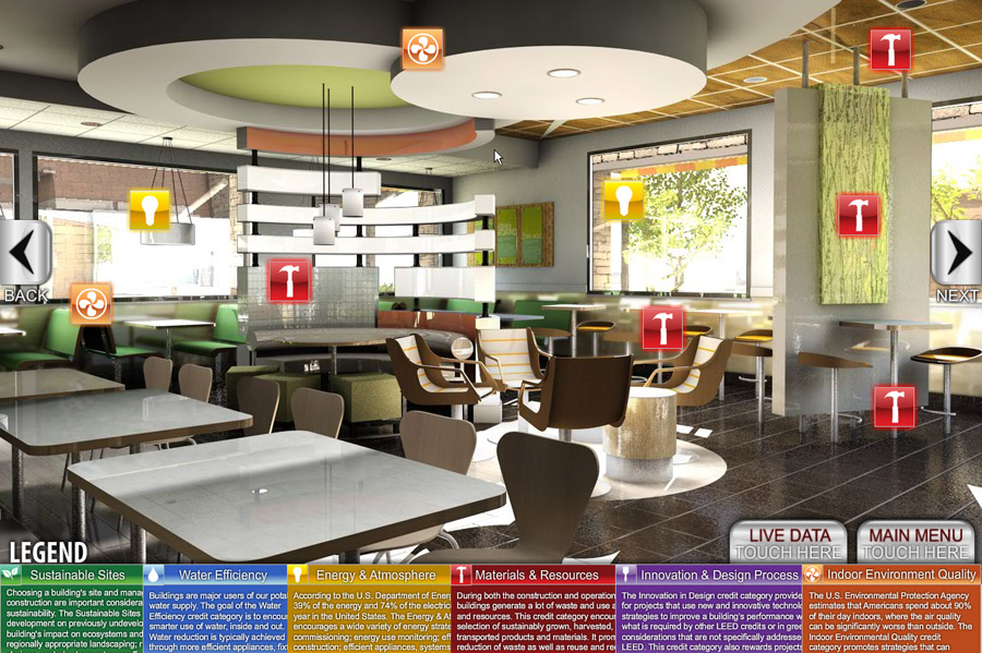 QA Graphics Helps Green McDonalds Tell Its Story