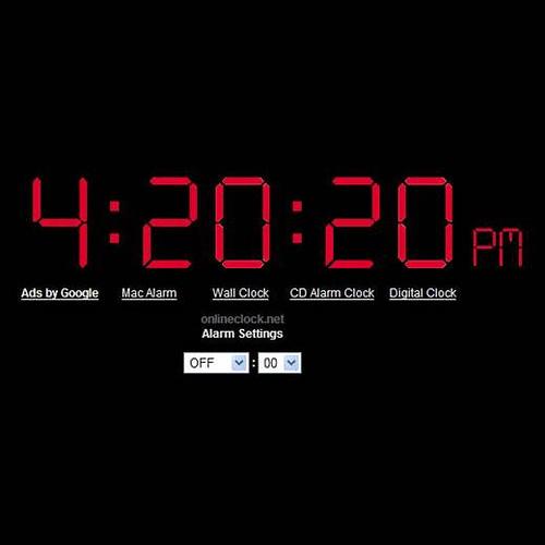 Time Alarm Online