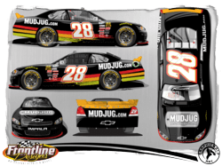 Mud Jug Is Proud To Sponsor Car 28 For The Nascar