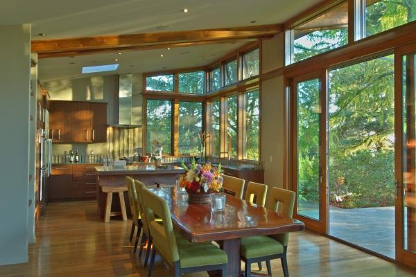 Stillwater Dwellings Announces Completion Of Green Prefab Home Near Portland Oregon Built For A