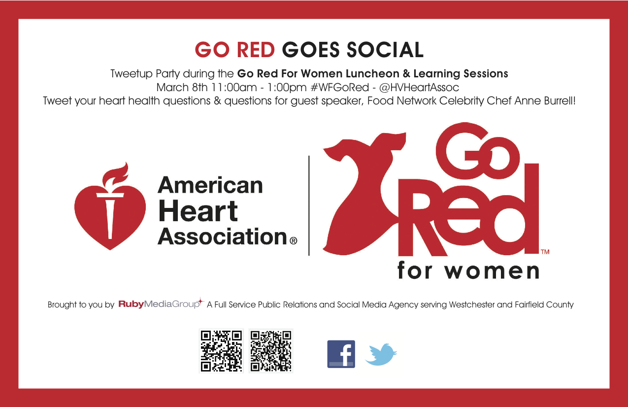 Go Red For Women Luncheon Goes Social