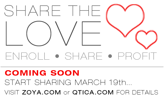 Zoya and Qtica Cosmetics announce new Share The Love ...