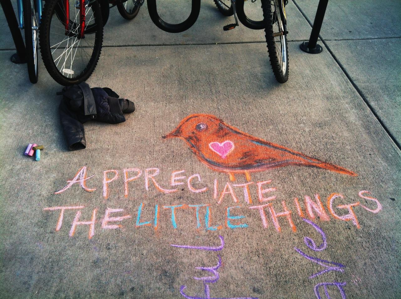 Appreciate Chalk