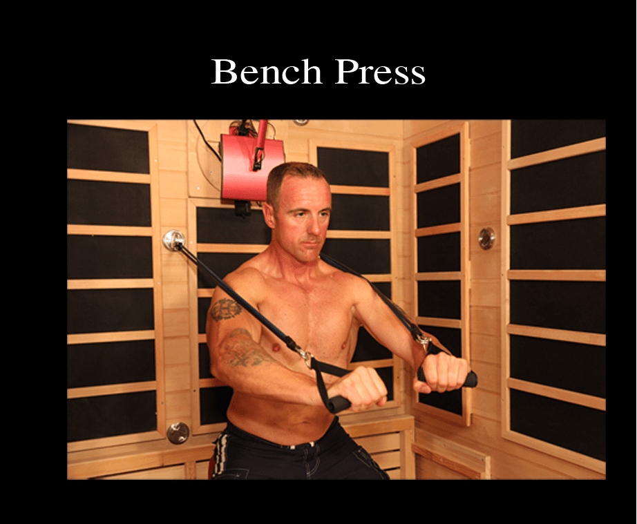 New Patent Pending Discovery Hi Q Fitness Sauna Helps