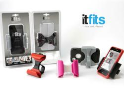 itFits - The smarter smartphone accessory that flexes to fit your smartphone, with or without a case.