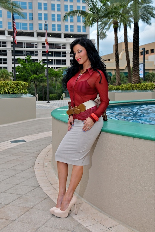 International Television Host Fitness Model And Master S