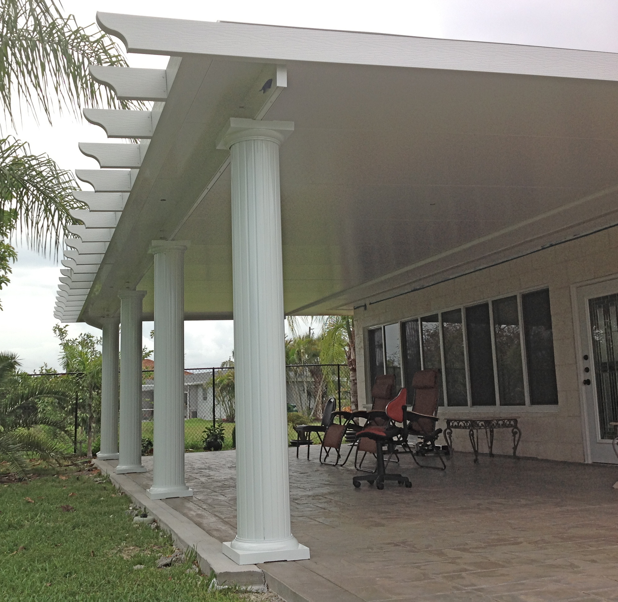 Insulated Patio Roofs In South Florida Feed Sales Increase For Venetian Builders Inc During