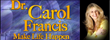 Facing Today's Issues as Discussed on Dr. Carol Francis Talk Radio This Week Include Eating Disorders, Escaping Abuse, Surviving Drought, and Living with Purposefulness