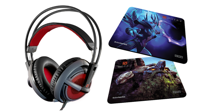 SteelSeries And Valve Introduce The Siberia V2 Dota 2