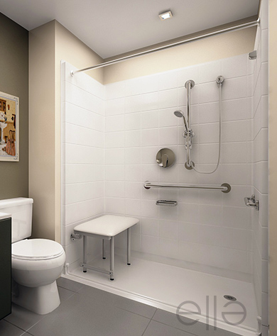 National Step In Bathtub Provider Announces Wheelchair