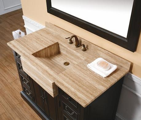 Has Introduced A Guide To Integrated Stone Sinks For The Bathroom