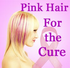 Pink Hair For Breast Cancer Awareness Month Now Available