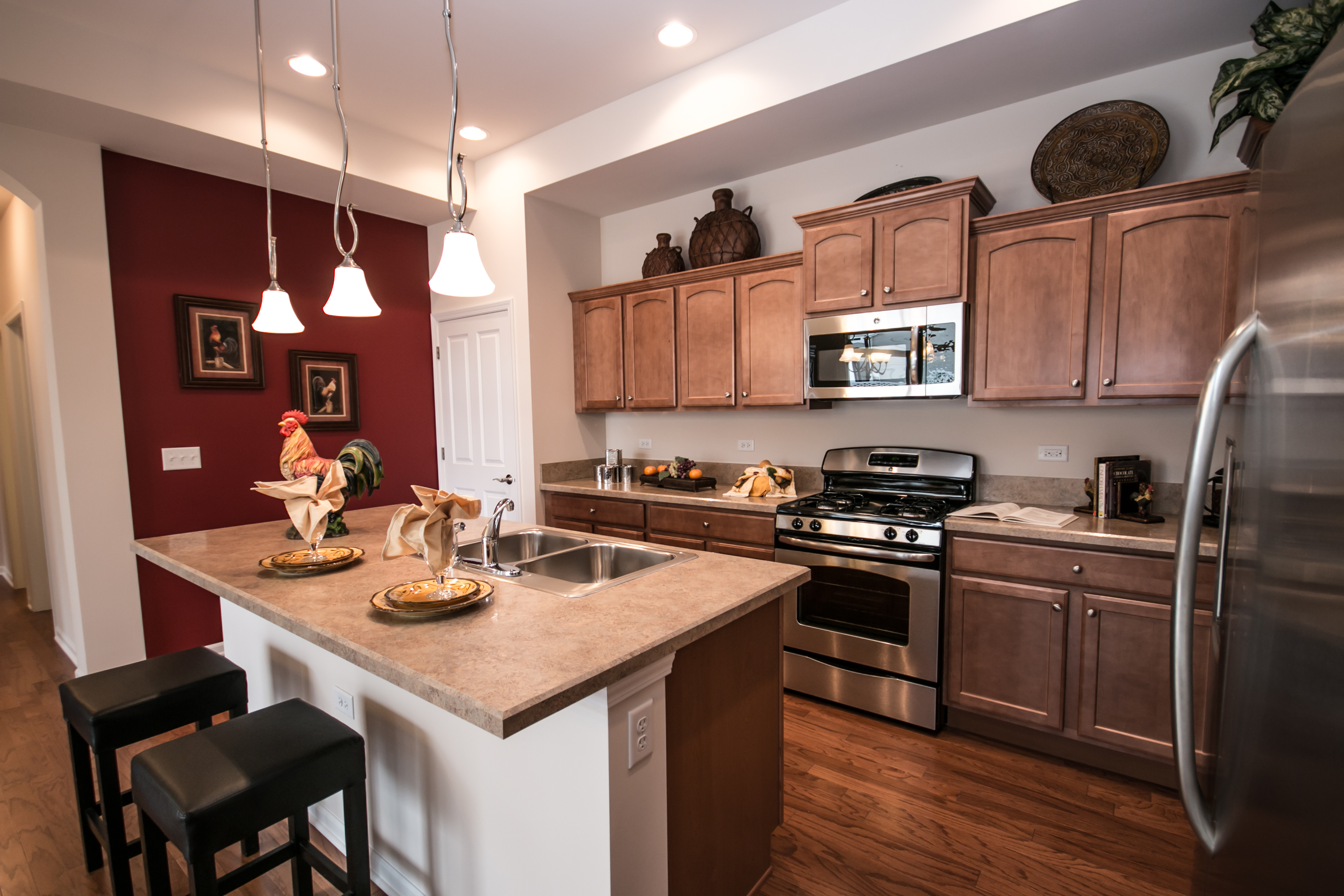 Wilcox Announces New Decorated Single Family Ranch Models ... on Model Kitchen  id=87912