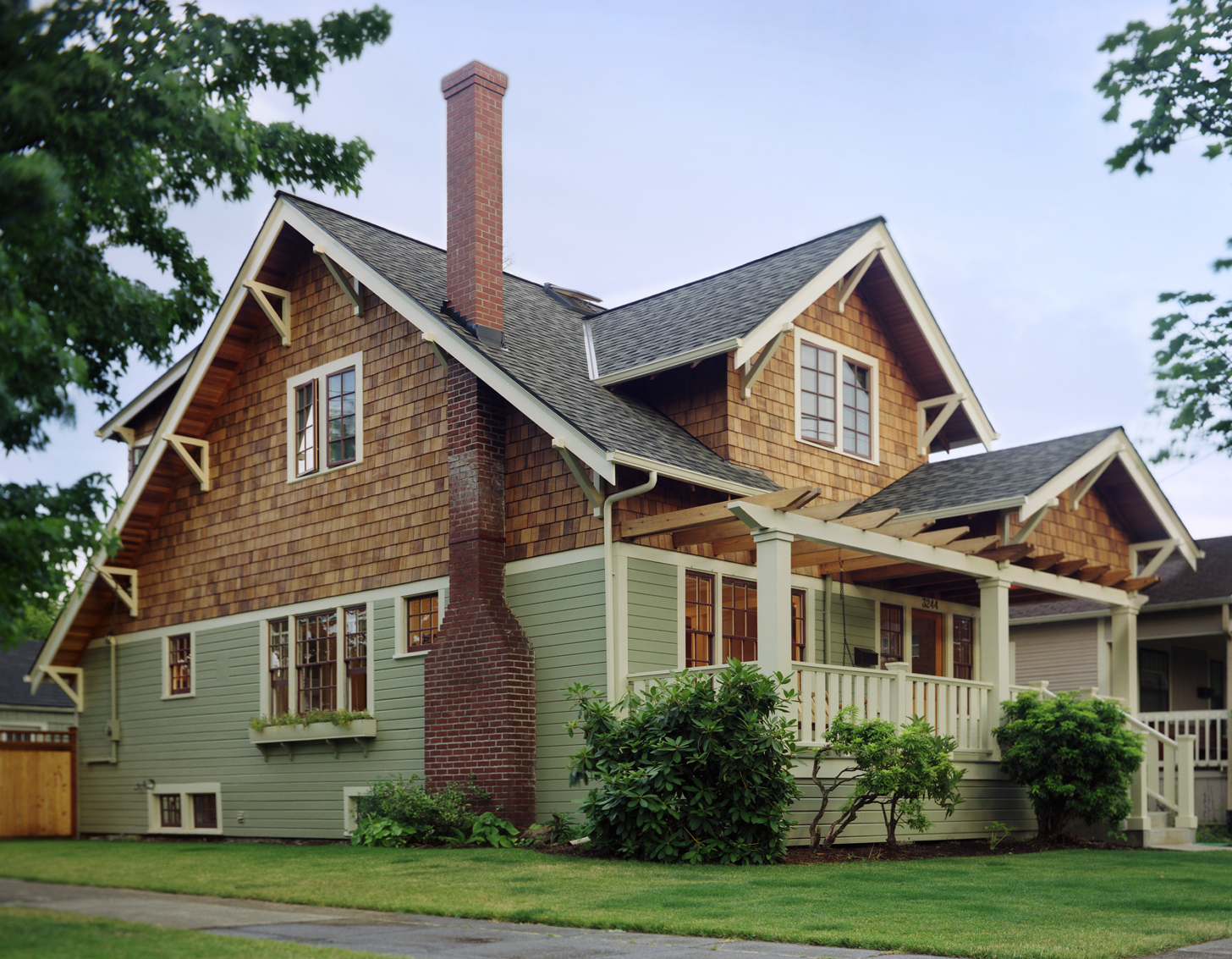 Seven Home Styles of the Pacific Northwest Illustrated by ... on House Siding Ideas  id=72410