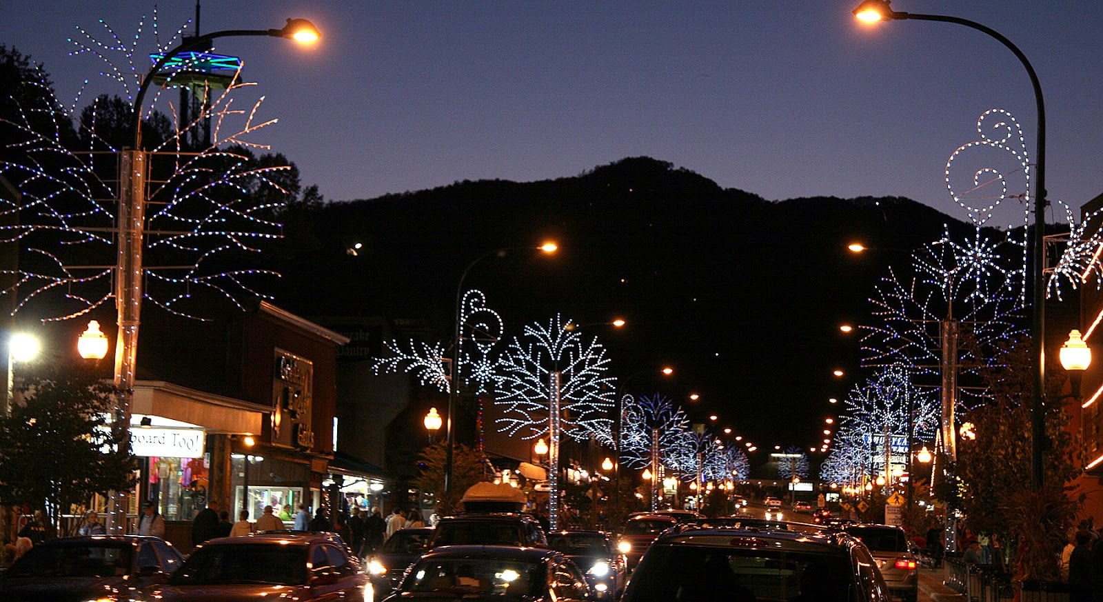 Christmas Lights Gatlinburg