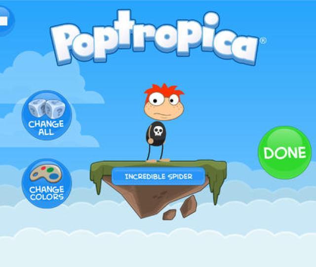 Poptropica Login
