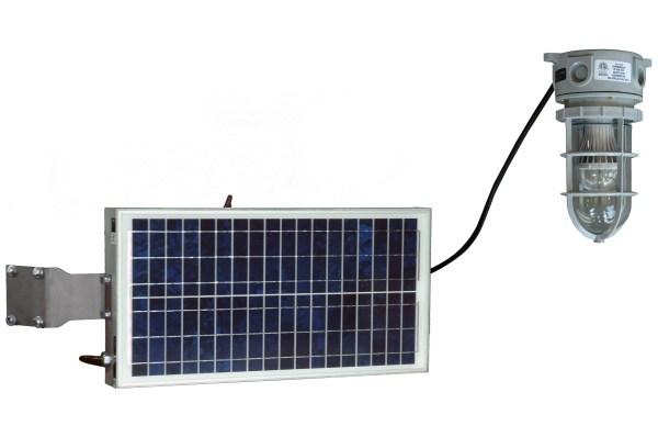 Solar Powered 10-Watt LED Hazardous Location Light ...