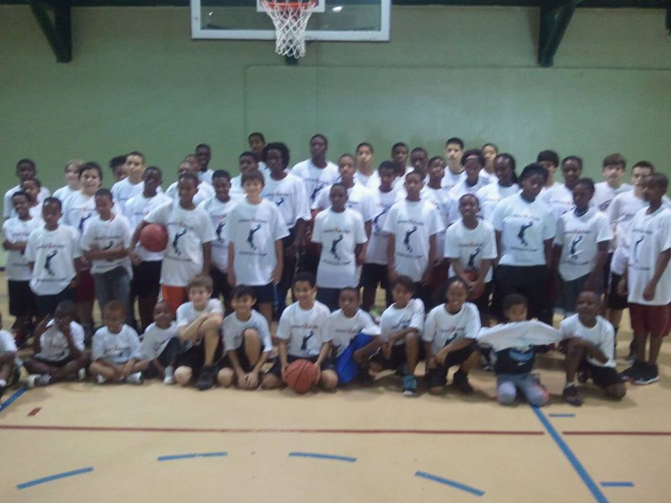 Professional Basketball Players Teach Lessons On And Off