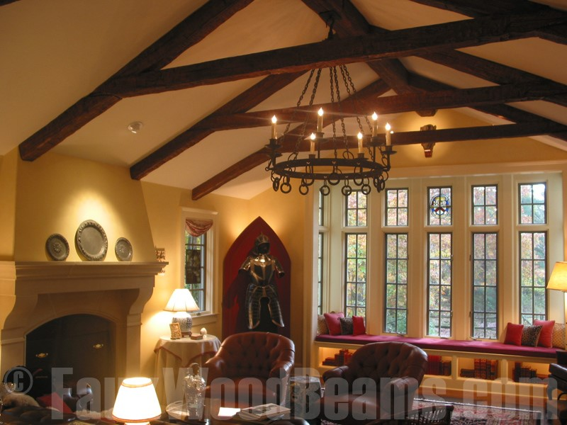 Faux Reclaimed Wood Panels Are The Latest FauxWoodBeams