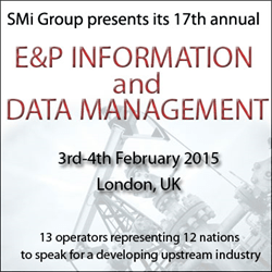 E&P Information & Data Management 2015: 13 operators ...