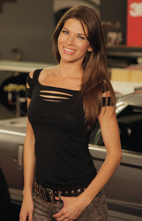 """Adrienne Janic """"AJ"""", of Overhaulin', Makes Appearance at ..."""