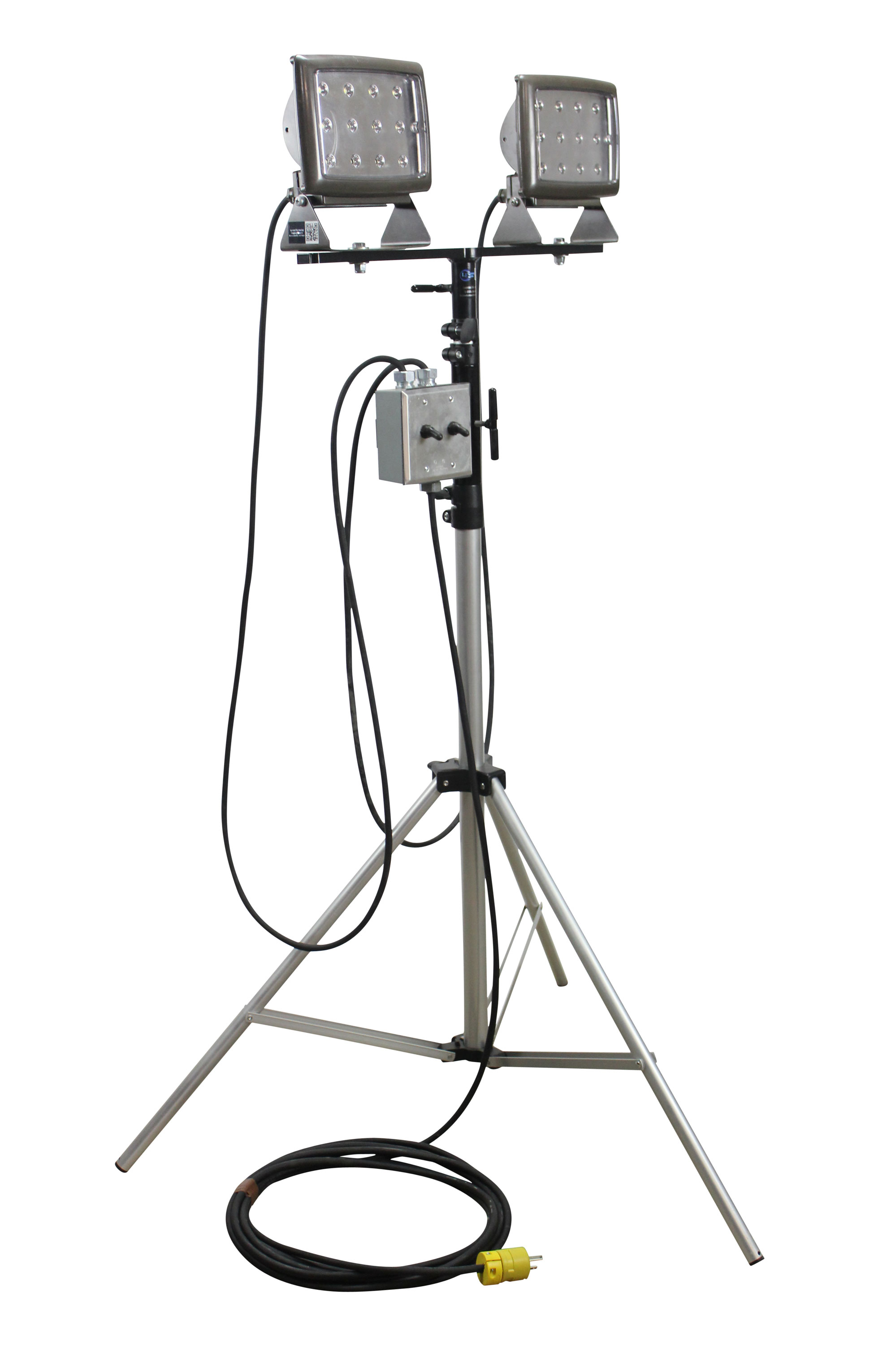 Larson Electronics Releases Portable Led Flood Light On Telescoping Tripod