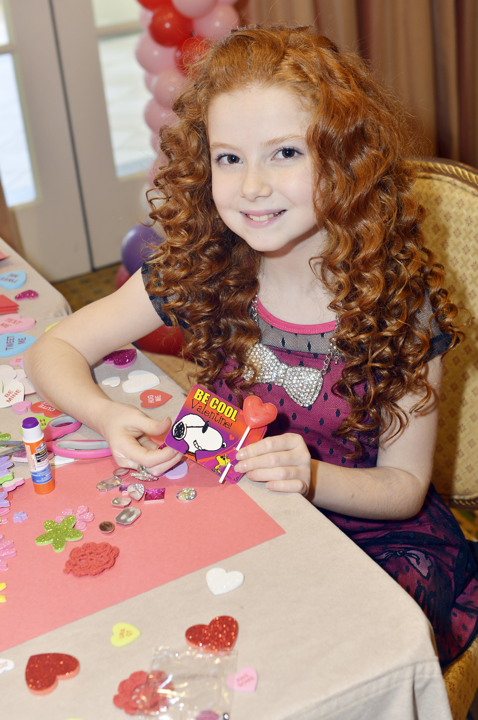Francesca Capaldi The Little Red Haired Girl Of Upcoming Peanuts 3 D CGI Film Snoopy The