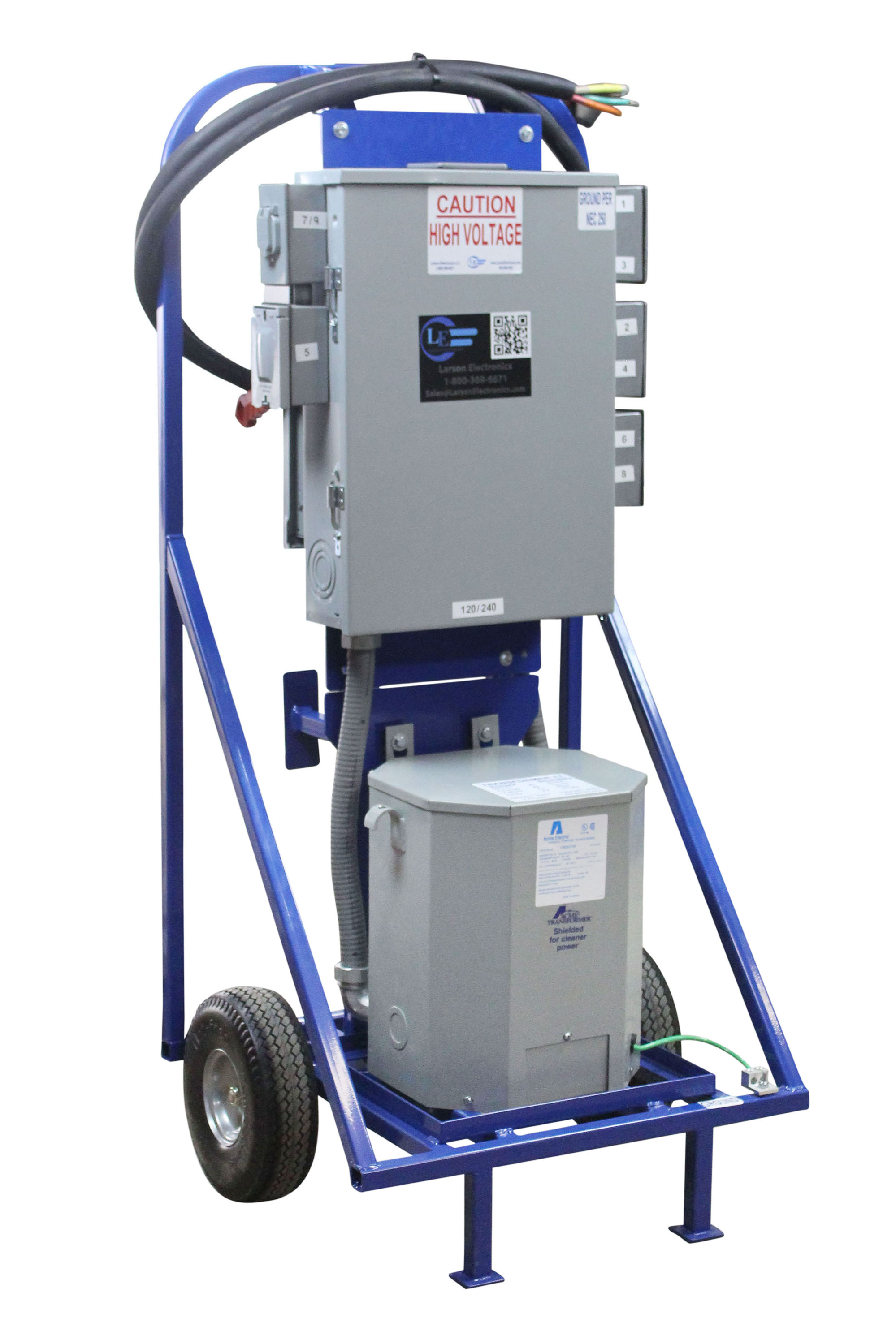 Larson Electronics Reveals A 15kva Step Down Temporary