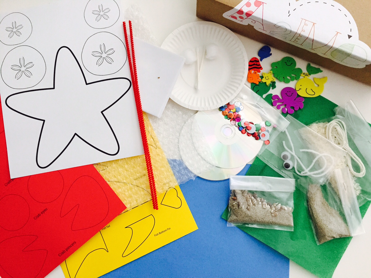 A2me Preschool Announces Curated Craft Kits For